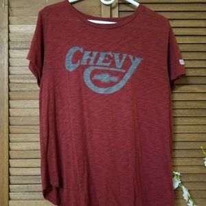 American Eagle Tailgate Tee Chevy Logo